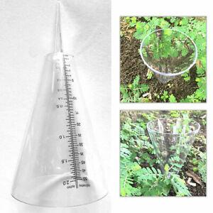 Rain Gauge Preciprocator Ground Spike Precipitation Garden Rainfall Guage Tool