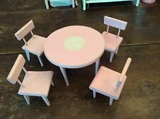 VINTAGE 1950'S VOGUE GINNY DOLL TABLE & CHAIRS