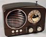 Portable Retro Radio AM FM SW Bluetooth Speaker TF Card Rechargeable