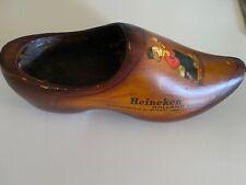 Heineken wooden shoe