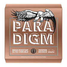 Ernie Ball Paradigm Medium Light Phosphor Bronze Acoustic Guitar Strings 12 - 54