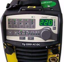 ESAB CADDY TIG 2200iW AC/DC panel TA34 WELDER MMA PULSE + COOLER + TROLLEY 220A