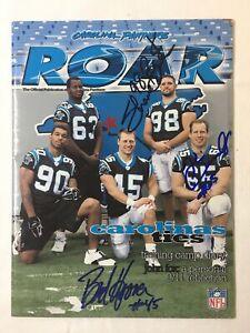 Carolina Panthers Roar V.4 #2 AUTOGRAPHED BY BRAD HOOVER,SHANE BURTON,DONNALLEY