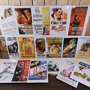 Hollywood Golden Early Years Movie Poster Tin Sign 8x12 Vintage Wall Door Plaque