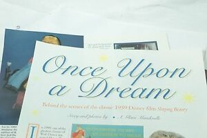 7 Page Article Various Sleeping Beauty Dolls June/July 1997 Doll Reader Magazine