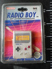 Vintage Nintendo Radio Boy Game Boy AM FM Receiver Mario Stereo GIG TIGER