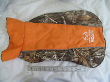 Realtree Edge Camo Dog Jacket Large - Pink Fleece Coat Reflective Washable