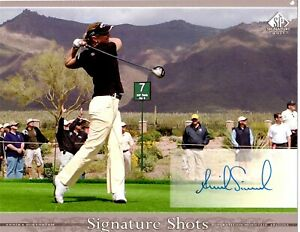 ANNIKA SORENSTAM HAND SIGNED AUTO AUTOGRAPH 8x10 PHOTO UPPER DECK CARD 8X10