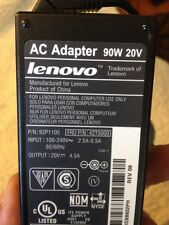 Genuine IBM Lenovo AC Adapter Power Supply 90W 20V 4.5A Tested Good