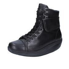 women's shoes MBT 3,5 (EU 36) ankle boots black leather BT206-36