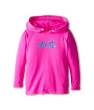 O'Neill Wetsuits Girls UV Sun Protection Toddler Skins Hoodie Rashguard Berry 6