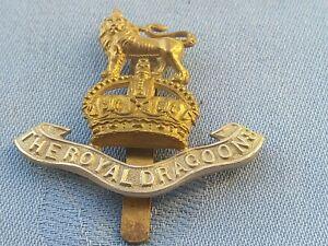The Royal Dragoons cap badge.