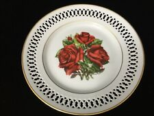 "Bing & Grondahl Danbury Mint 1979 The 12 Rose Plate ""Mirandy"", 8 1/2"" Dia"