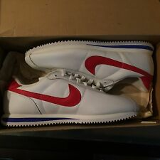 Nike Cortez Forrest Gump White/Red-Blue Sz 10 304035-161 30th Anniversary 2002 !