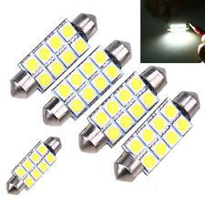 4pcs 5050 41mm 8SMD 12V Car Interior Dome Festoon LED Light Bulbs Lamp White