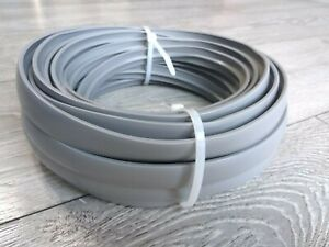 REDUCED!  -  20 Metres Double Lipped Light Grey T-Trim Knock On Edging - 15MM