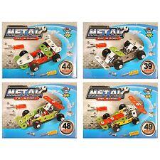 Boys Car Diy Metal Kit Fun Toy Kids Boy Xmas Gift Christmas Stocking Filler