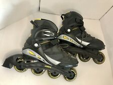 Dbx Abec 7 Inline Skates Roller Blades Mens Size 10-Mothership Wheels Yellow