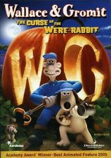 Wallace And Gromit The Curse of the Were Rabbit Widescreen Dvd Movie Wererabbit