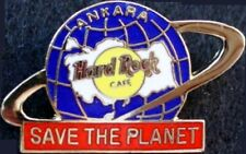 "Hard Rock Cafe ANKARA ""SAVE THE PLANET"" Globe Logo PIN - HRC Catalog #42897"