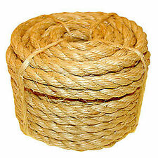 24mm Sisal Rope (Natural Fibre) - Buy It By The Metre