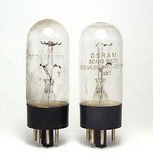 2x Stromregel-Röhre (?) Osram, Eisenwasserstoff-Röhren / Ballast Tubes