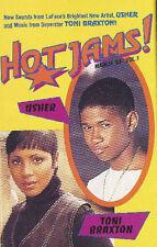 TONI BRAXTON & USHER Hot Jams 1994 CASSETTE TAPE RARE SAM GOODY PROMO