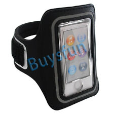 New Black Sport Gym Armband Case Cover For Apple iPod Nano 7 7G 7TH