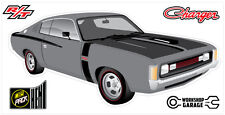 New! Collectable Chrysler VH Valiant Charger R/T - SILVER GREY
