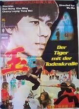Der Tiger mit der Todeskralle Xue yu Filmposter A1 Wang Tao Don Wang, Wong Tao