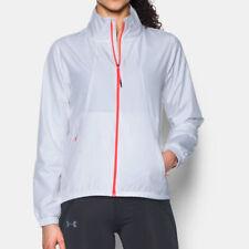 Under Armour UA Ladies White International Run Sports Running Jacket