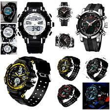 BIG Sport Army Analog & Digital Alarm Date Wrist watch Ohsen,Weide,Skmei Smael