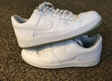 Nike Air Force 1 '07 Size 11 Style #315122-996 White Clear Bottom Very Clean
