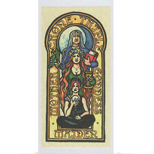 PAGAN WICCAN GREETING CARD Triple GODDESS Mother Maiden Crone HEDINGHAM FAIR