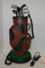 Vintage Novelty Manufacturing Golf Bag Single Line Corded Phone Rare HTF