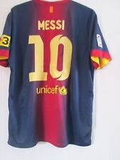 Barcelona 2012-2013 Home Messi Football Shirt Adult Size XL /41587