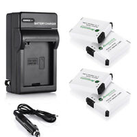 AHDBT-001 AHDBT-002 Battery & Wall /Car Charger For GoPro HD Hero2 Hero 2 Camera