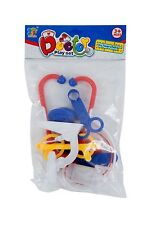 DOCTORS SET - COLOURFUL DRESS UP CHILDRENS PLAY SET FOR YOUNG DOCTORS / NURSES