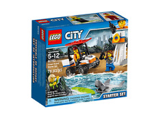 Lego City 60163 Coast Guard Starter Set  Building Toy 76-pcs