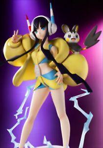 2020 KOTOBUKIYA Elesa & Emolga 1/8 PVC Figure Kamitsure Emonga Pokemon