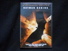 Batman Begins Starring Chistian Bale, Katie Holmes Widescreen Edition Dvd
