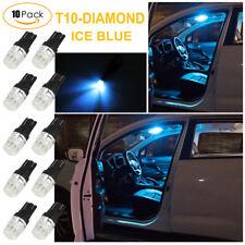10x T10 W5W 501 Car Side Light Bulbs Error Free Canbus LED Ice Blue Light Bulbs