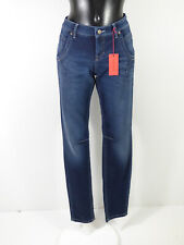 CAMBIO Damen Jeans Hose Gr 34 DE / Blau Waschung und Neu mit Etikett  ( R 1241 )