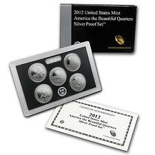 2012 America the Beautiful Quarters Silver Proof Set - SKU #84296