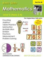 Basic Skills Maths Level 2 Yrs 3 - 4