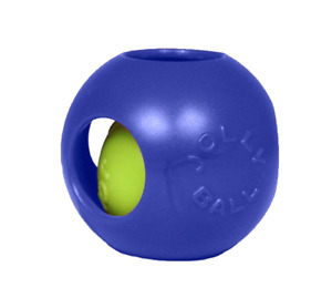 Jolly Pets Teaser Ball Dog Toy, Medium/6 Inches, BLUE