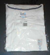 White Short Sleeve T-Shirt Croft & Barrow Classic 100% Cotton PXL NWT