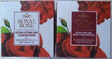 SET: ROYAL ROSE DAY&NIGHT CREAMS WITH ROSE OIL AND ARGAN OIL per 40 ml
