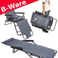 B-Ware Campingstuhl Liegestuhl Freizeitliege Sonnenliege Strandliege Liege