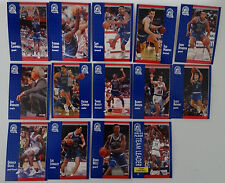 1991-92 Fleer Minnesota Timberwolves Team Set Of 14 Basketball Cards